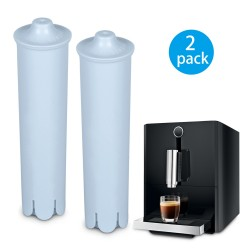 Rhodesy Water Filter for Jura Claris Blue, Filter for Jura Automatic Espresso Coffee Machine, Compatible with ENA IMPRESSA Series (Pack of 2)